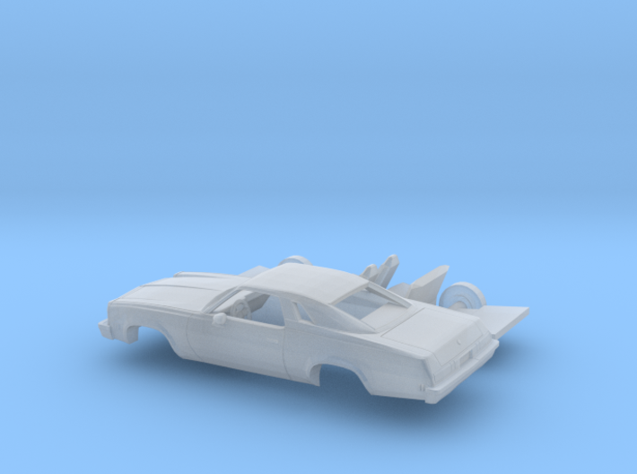 1/87 1976/77 Chevrolet Malibu Classic Coupe Kit 3d printed