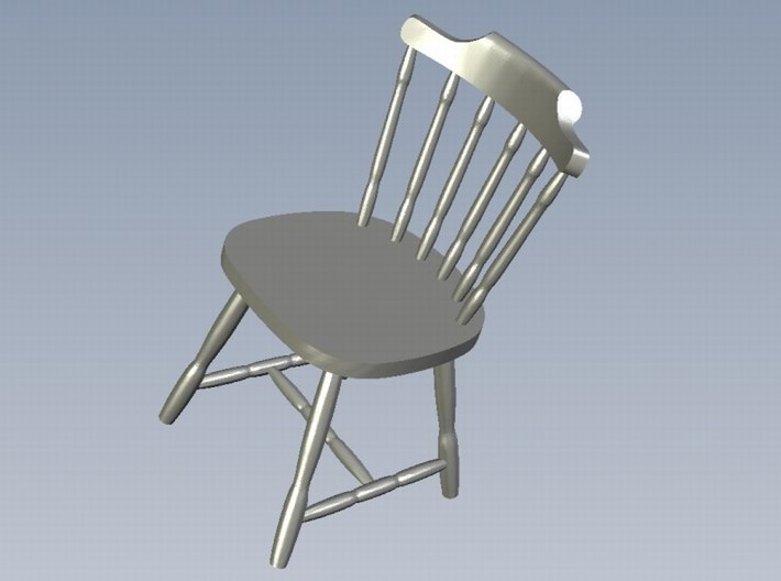 1/35 scale wooden chairs set A x 5 3d printed