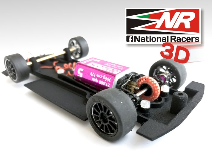 3D Chassis - NINCO Lexus SC430 - Combo 3d printed