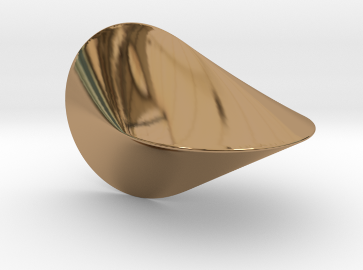 The Oloid: a mathematically perfect piece of art 3d printed