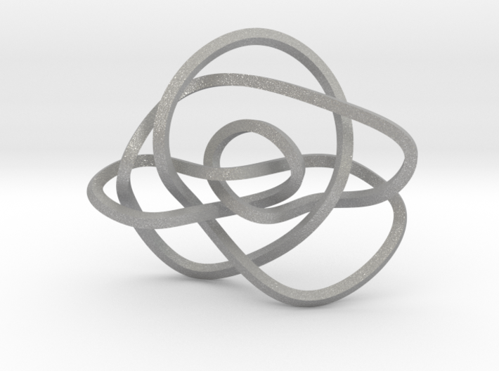 Ochiai unknot (Square) 3d printed