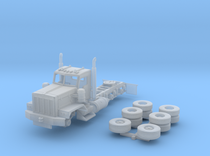 KW C500 daycab heavy duty 1/160 scale 3d printed