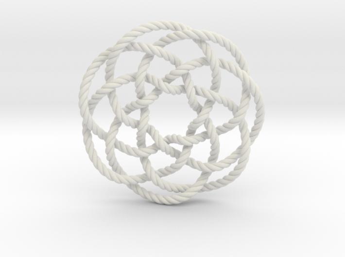 Rose knot 7/5 (Rope) 3d printed