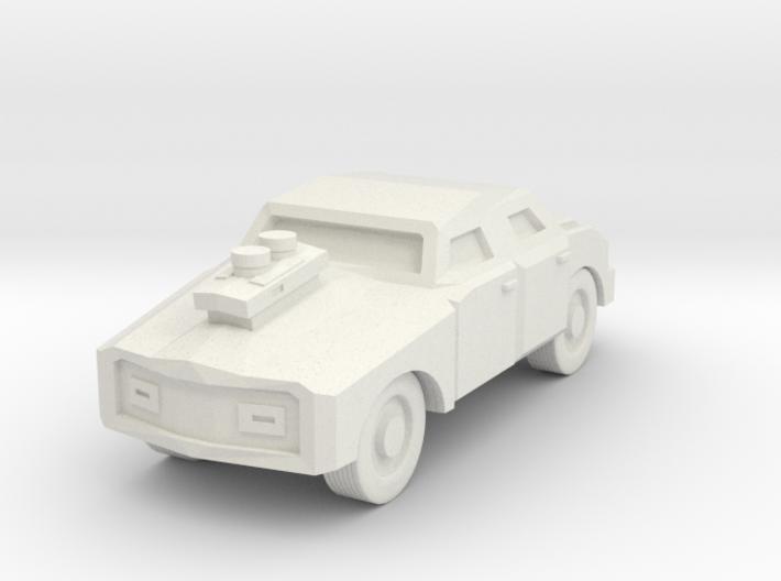 Generic Car - Armored Free Download 3d printed