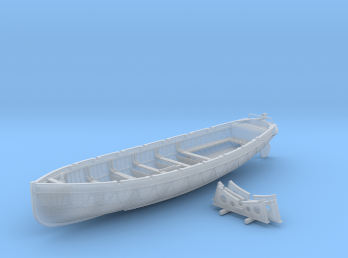 1/72 Scale Royal Navy 32ft Cutter x1 3d printed 1/72 Scale Royal Navy 32ft Cutter x1