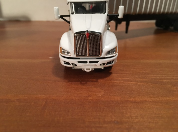 1/64 (4) Safe-T-Pull Truck Hitches  3d printed