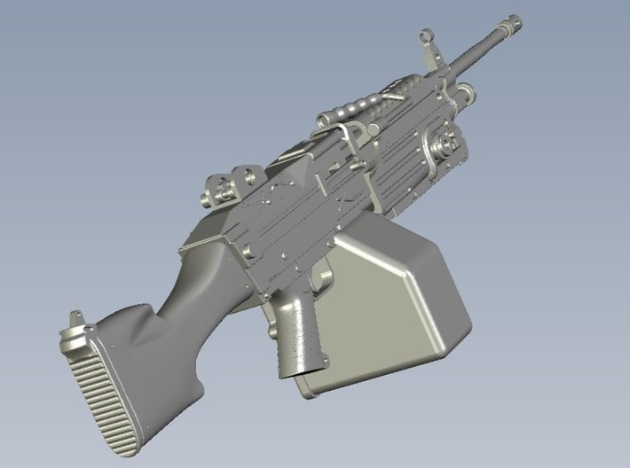 1/15 scale FN Fabrique Nationale M-249 Minimi x 10 3d printed