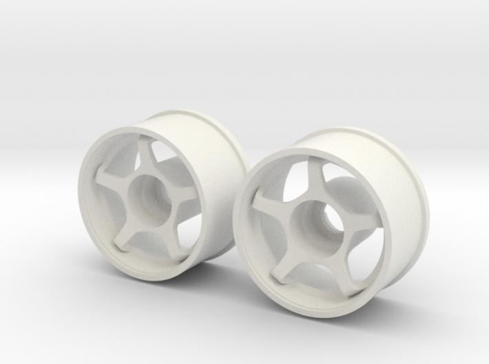 Mini Z RWD Wheel Rear offset 0 3d printed