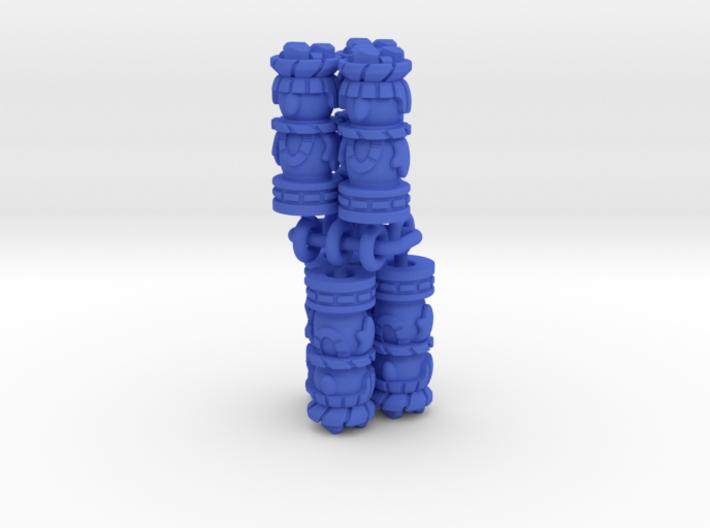 Mayan Worker Tokens (6 pcs) 3d printed