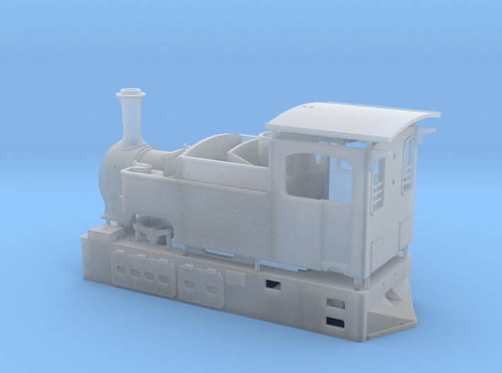 00n3 Clogher Valley Tram Engine 3d printed