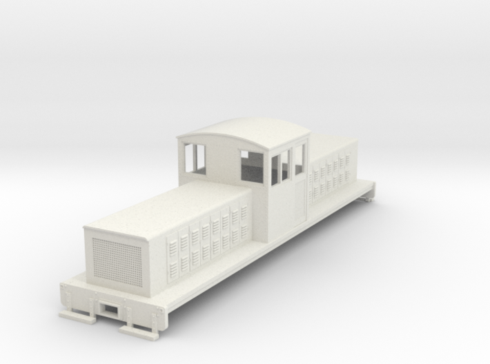 On30 long center cab body for SD7/9 chassis 3d printed