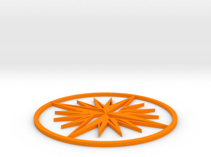 Compass 3d printed