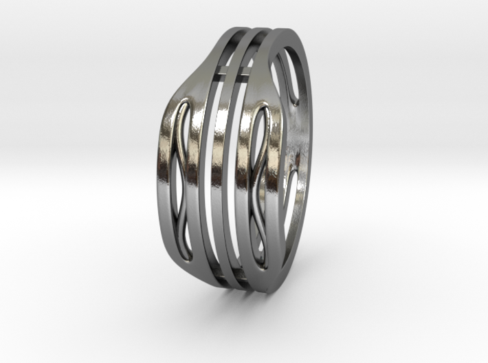 Elegant Ring 3d printed