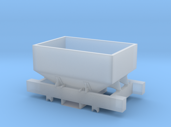 Talyllyn Winchburgh Hopper Body & Chassis 5.5mm 3d printed