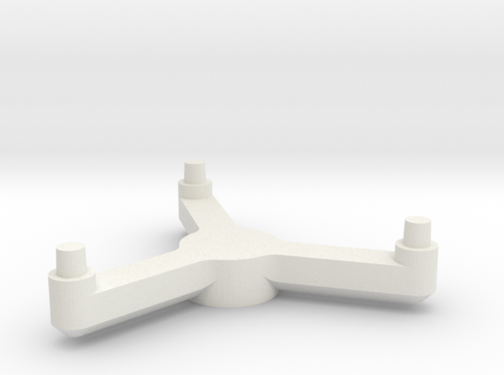3788 Scale Tholian PC Pinwheel Stand Topper SRZ 3d printed