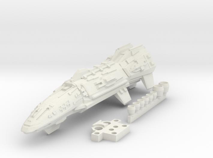 1/2700 Tartan Cruiser 3d printed