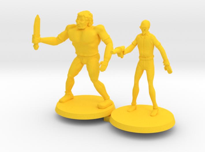Drokk & Russel 3d printed