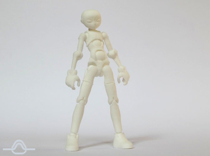 Erstaz MKII action figure Angel Body 3d printed