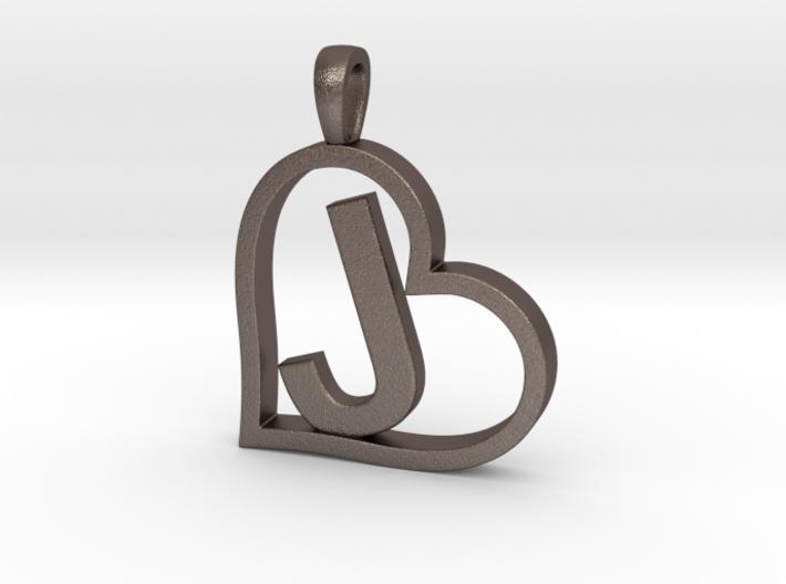 Alpha Heart 'J' Series 1 3d printed