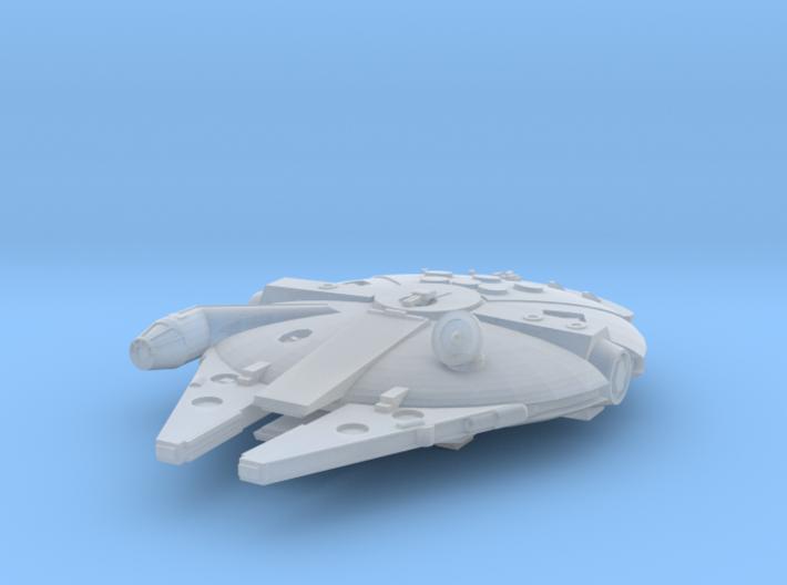 1:2700 Millenium Falcon, gear down 3d printed