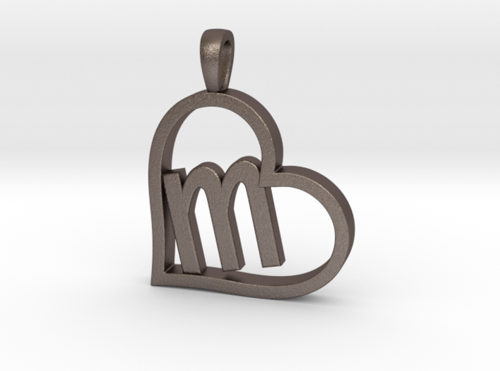 Alpha Heart 'M' Series 1 3d printed