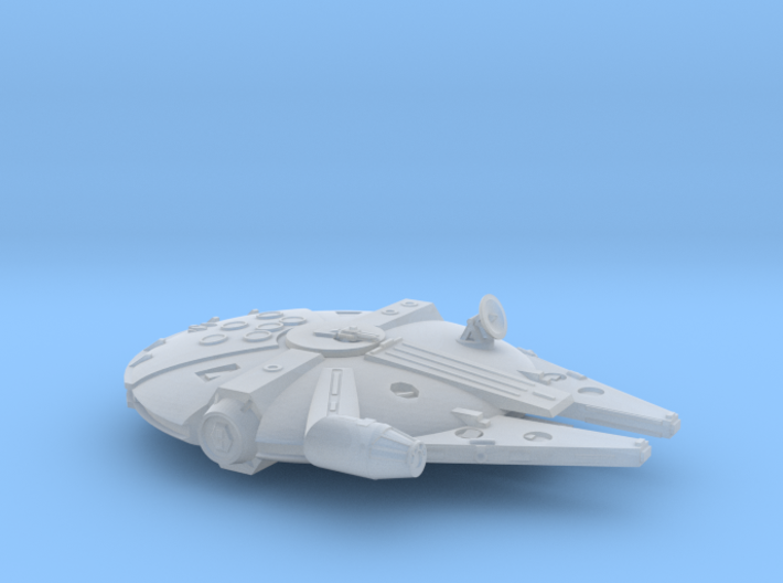 1:1200 Millenium Falcon, gear up 3d printed