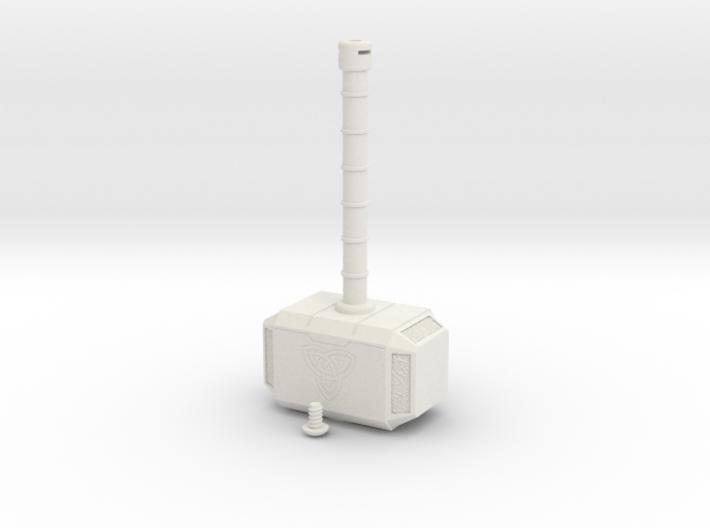 Mjolnir, Beacon of Thunder 3d printed