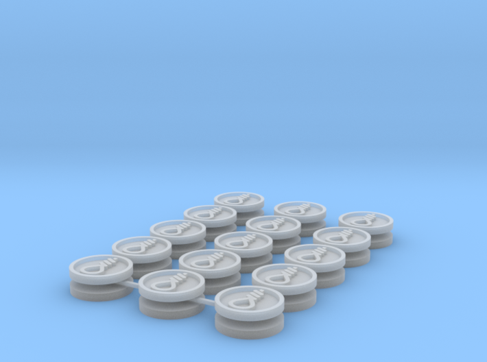 Commission 9 icons 15mm 3d printed