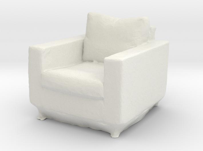 Printle Thing Armchair - 1/32 3d printed