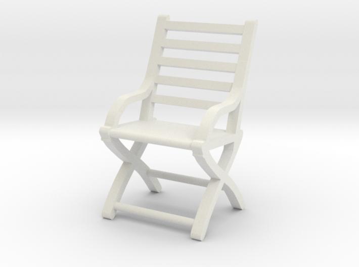 1:48 Civil War Folding Chair Slatted 3d printed