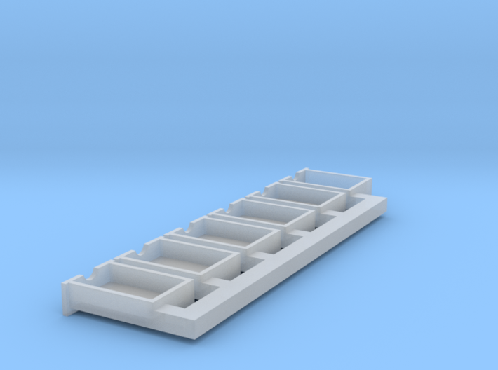 HO Scale drawers (repaired) 3d printed