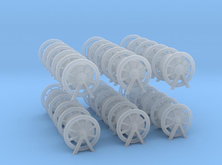 1/200 Rope Barrel Small Set x18 3d printed
