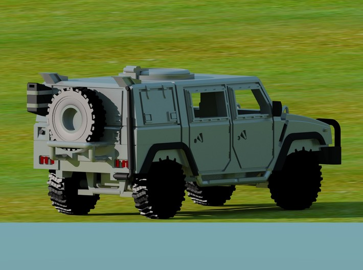 IVECO-Lince-100-proto-01 3d printed