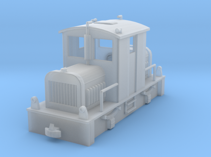 Diesel Tractor H0e 3d printed