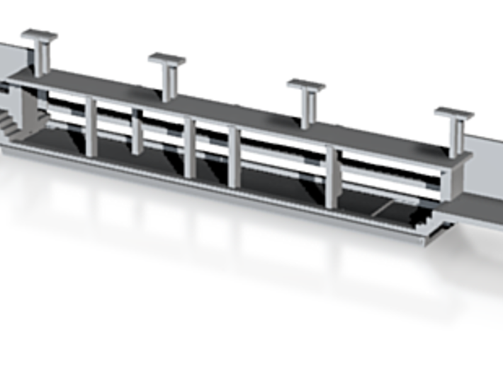 CNL-DACH- WLAB Unterteil Scale TT 3d printed