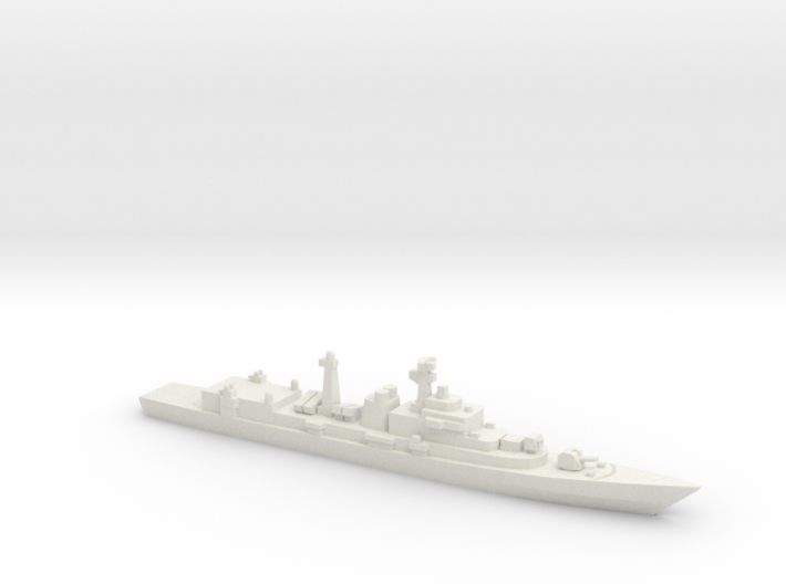 Type 052 Destroyer, 1/1250 3d printed