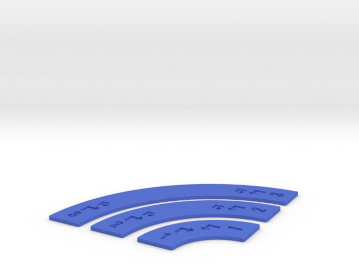 Customizable Turn Movement Sticks 3d printed
