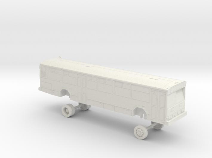 HO Scale Bus Gillig Phantom AC Transit 2600s 3d printed