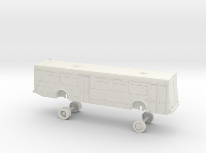 HO Scale Bus NABI 416 AC Transit 3100s 3d printed