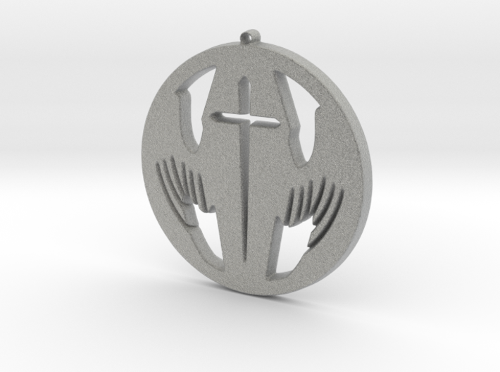 Winged Coffin 3d printed