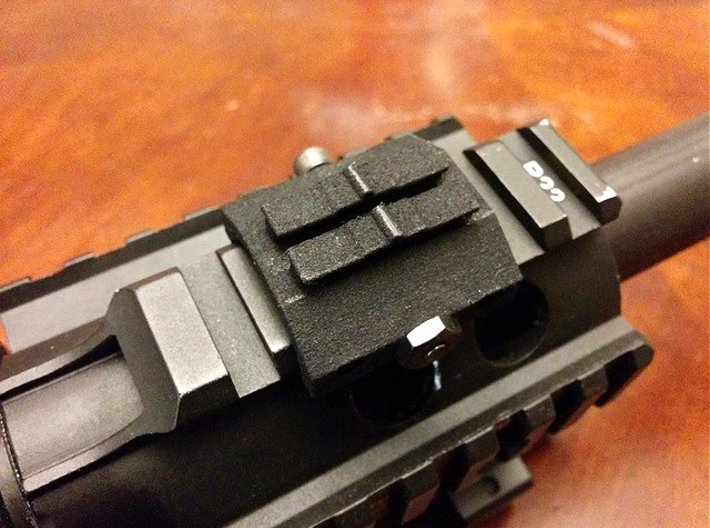 Contour Action Cam Picatinny Mount Adapter 3d printed