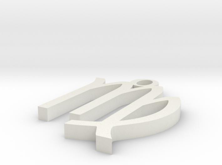 Virgo Pendant 3d printed