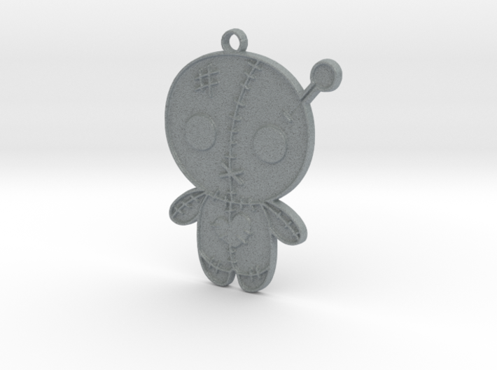 Voodoo Doll Pendant 3d printed
