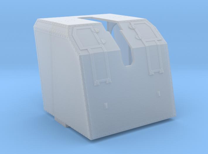1/35 DKM 10.5 cm/45 (4.1in) SK C/32 Shield 3d printed