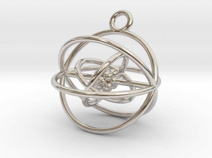 Oxygen Atom 3d printed