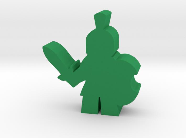 Game Piece, Trojan Soldier 3d printed