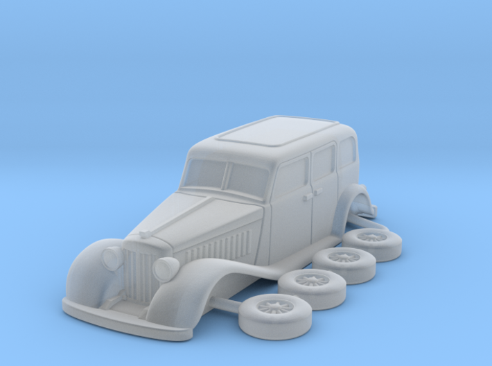 Chrysler 1931 Imperial esc:1/144 3d printed