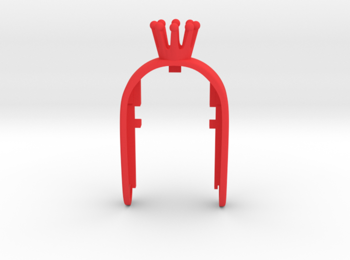CROWN #23 QUEEN KEY FOB FOR MINI COOPER F MODELS 3d printed