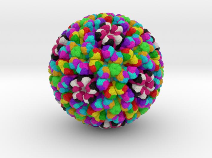 Rotavirus 3d printed