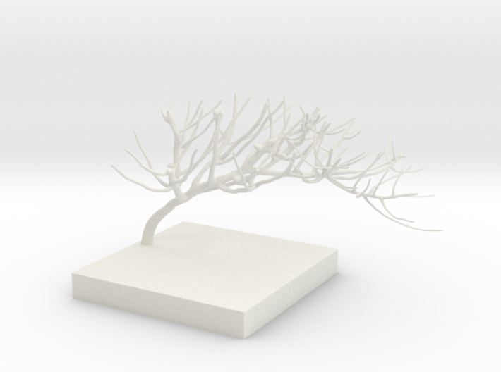 Sculpted Branch 3d printed